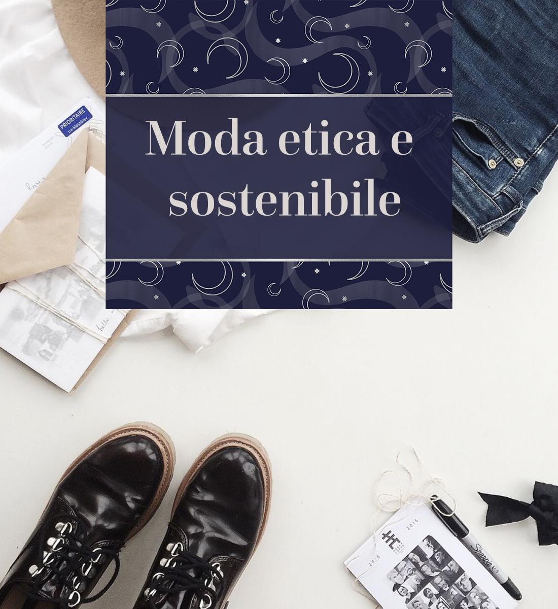 Moda etica e sostenibile